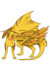 Dragon Plate - Gold Sunrise.png