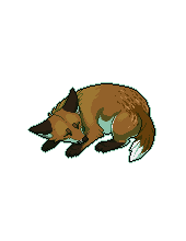 Pixel Fox - Red