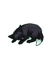 Pixel Fox - Black